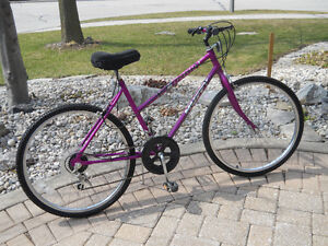 Ladies 10 speed 26 in wheels by Huffy in perfect condition