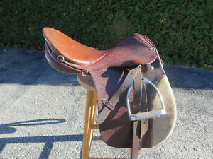 English riding saddle - Stubben Tristan model