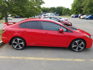 2015 Honda Civic Si - 4dr - Rally Red