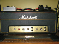 Amplificateur Lampes Marshall 2061 Lead and Bass 1972 Amp