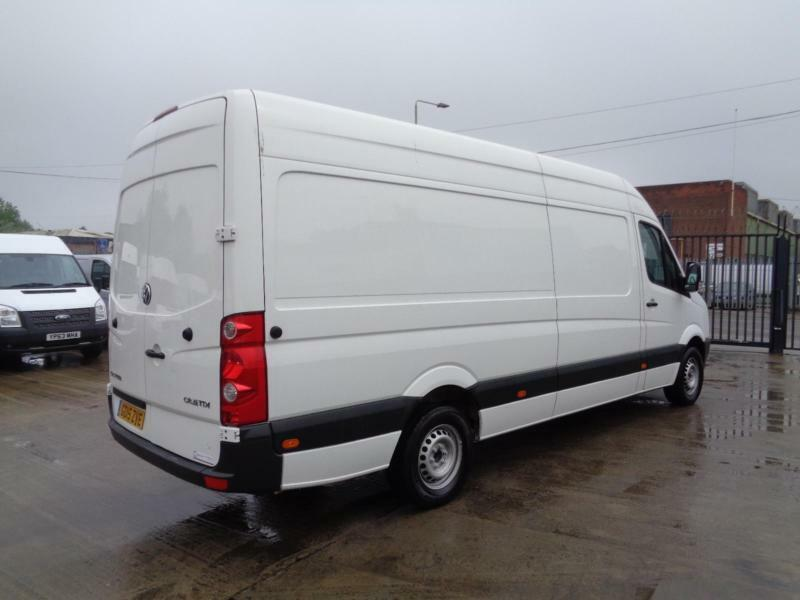 volkswagen crafter 2.0 tdi | lwb - high roof | 1 owner | 25k miles