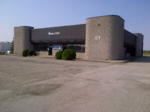 Office Space, Heated Shop and Outdoor Fenced Compound for Lease