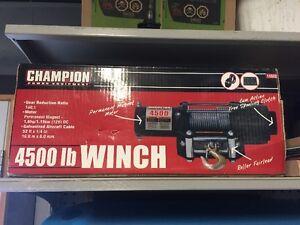 treuil Champion 4500lb neuf