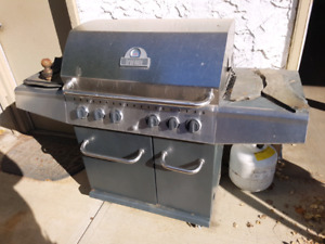 Broil-mate barbecue, stainless,