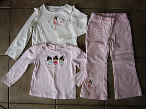 Gymboree Size 4/5 'Winter Ballerina' Line Outfit