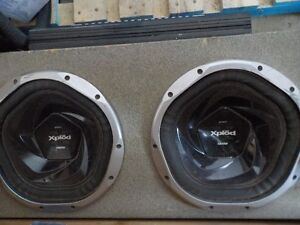 2400W Sony Subs and Amp System