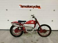 1958 GREEVES SCOTTISH TWIN 25TA 250CC VINTAGE TRIALS **PROJECT / BARN FIND**
