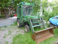 looking for a compact tractor