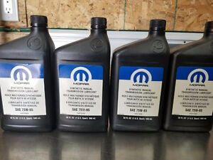 MOPAR SYNTHETIC MANUAL TRANSMISSION LUBRICANT
