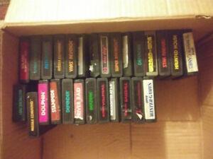 Atari 2600x2 + 27 games and lots of peripherals