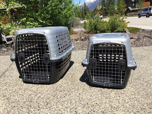 Two Petmate Kennels for Sale.