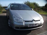 2005 55 CITROEN C5 2.2 EXCLUSIVE HDI 5D AUTO 132 BHP ** 1 FAMILY OWNER FROM NEW