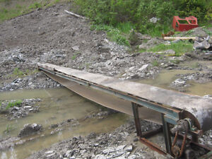 25ft conveyor and power pack for firewood prosessor