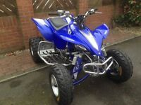 YAMAHA YFZ450 2007 PLG ROAD REGISTERED