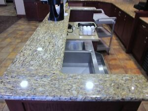 Bar with Granite Counter & Hutch - Beautiful - Nice Pieces Cambridge Kitchener Area image 7
