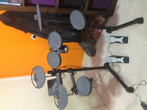 Yamaha electric drum kit in brand new condition