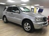 Mercedes-Benz ML350 3.7 auto SILVER 4X4 7 SEATER WARRANTY FULL SERVICE H