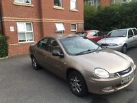 Chrysler Neon 44600 low milage 2.0 petrol