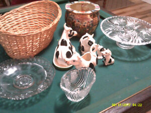 White China Dishes    &   Fiesta Style Dishes  & Condiment Dishe