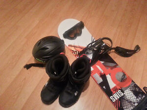 Snowboard + Equipment *Barely Used*