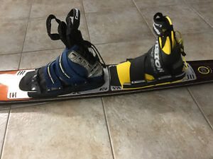 Connelly Concept F3 Double Boot Slalom Water Ski Kitchener / Waterloo Kitchener Area image 4