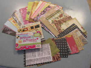 Paper and card stock for card making and  scrap booking