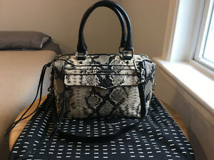 Rebecca Minkoff Python Embossesed Leather MAB