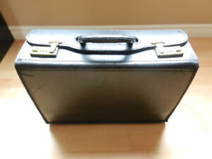 Leather brief case - pilot - doctor - attorney