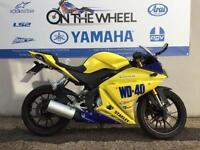 YAMAHA YZF-R125 WD40 REPLICA, ABS MODEL, RIDE AWAY TODAY!