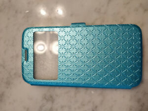 100% NEW - Samsung S6 full cover protective case, teal color