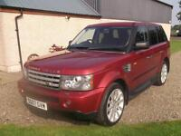 Land Rover Range Rover Sport 3.6TD V8 auto 2007 HSE. Storry 4x4