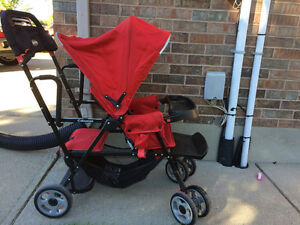 Double stroller - sit n' stand Joovy