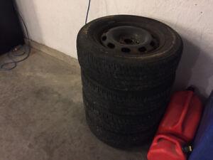 """15"""" Winter Tires & Rims"""
