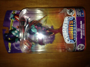Skylanders Giants Scarlet Ninjini Any last Wishes?