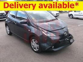 2015 Toyota Aygo X-pression VVT-I 1.0 DAMAGED REPAIRABLE SALVAGE