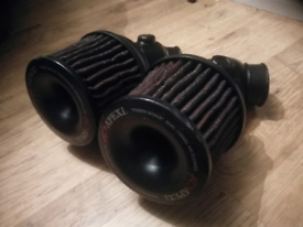 Mazda RX7 FD3S 13B Power Intake Twin Airfilter Setup (JDM, Rotary)