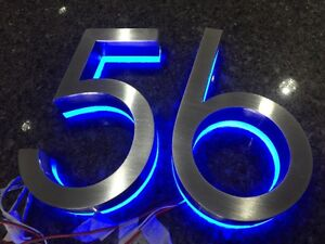 LED House Number Packages