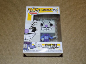 FUNKO, POP, KING DICE, CUPHEAD, GAMES #313, VINYL FIGURE
