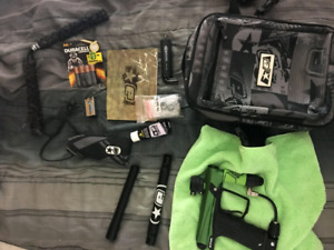 Etha paintball kit lots of accessories