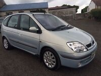 2002 Renault Scenic Dynamic AUTO with LPG AUTOGAS CONVERSION / Full years MOT