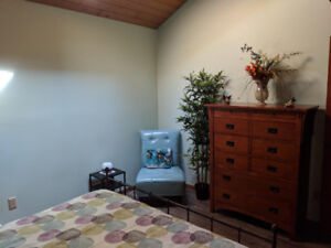White Rock/Ocean Park-Beautiful Room for Rent with Private Bath