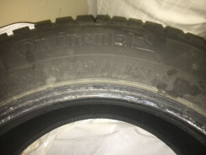 Continental P195/65 R15 winter tires