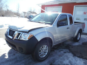 2015 Nissan Frontier SV EXT-CAB 4x4