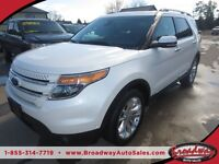 2013 Ford Explorer 4WD LOADED 'LIMITED EDITION' 7 PASSENGER 3RD