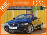 2010 BMW 3 Series 320i M Sport Highline Convertible 6 Speed Auto Electric Hard T