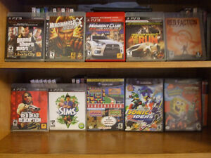 PS2/PS3/DS/PSP/Xbox and Game Cube games to sell. Gatineau Ottawa / Gatineau Area image 2