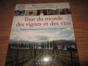 Livre sur le vin - un beau cadeau!