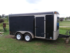 14x7 foot enclosed trailer