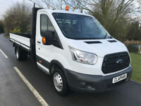 2014 64 FORD TRANSIT DROPSIDE 350 SINGLE CAB 125BHP 48,000 MILES ANY UK DELIVERY