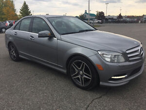 2011 MERCEDES-BENZ C300 4MATIC CLEAN CARPROOF